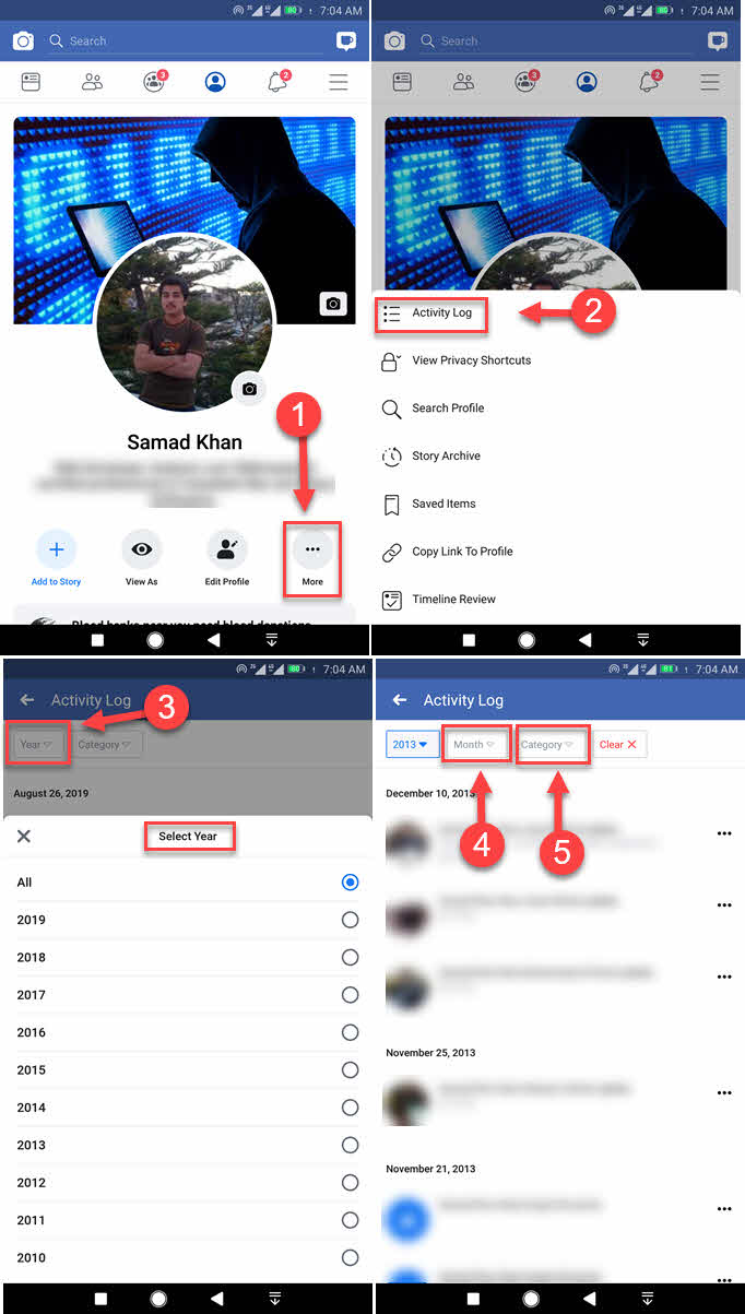Facebook date how messenger a specific to on find iphone