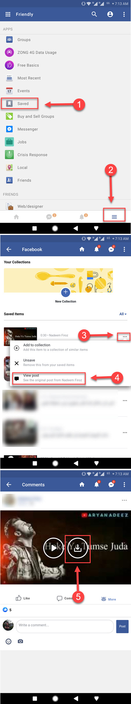 How to Save Video from Messenger to Gallery - SociallyPro
