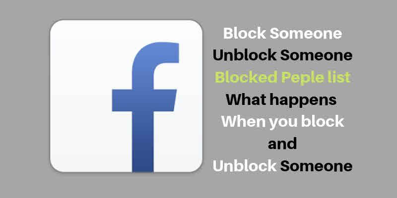 Me on to unblock my friend facebook how blocked How to