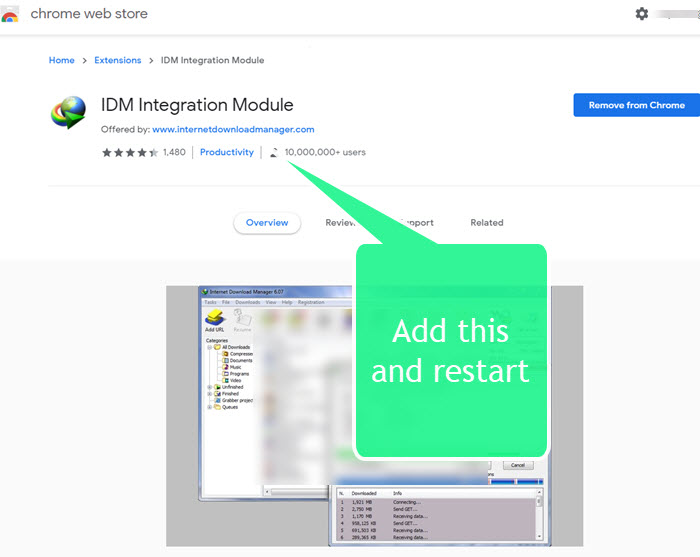 How To Add Idm Extension In Chrome Manually Sociallypro